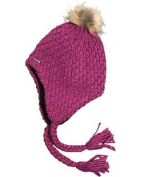 Chaos Chunky Handknit Hat (for Women) - Purple