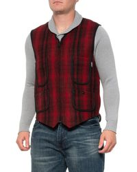 Woolrich Utility #12 Vest - Red