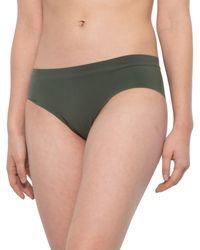 Commando Fast Track Cheeky Panties - Green