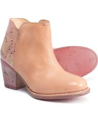 Bed Stu Yell Booties - Natural