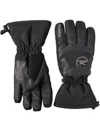 Rossignol - Soft Shell Embroidered Gloves - Lyst
