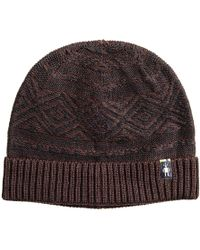 864bfcdc9e5 Lyst - Smartwool Ski Town Hat (charcoal Heather) Beanies in Red