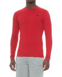 New Balance Aeronamic Thermal Shirt - Red
