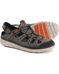 Mephisto Maroon Sandals - Multicolor