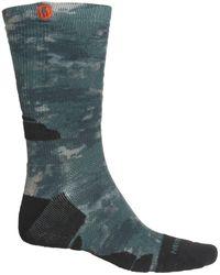 Merrell Camo Printed Hiking Socks - Green