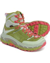 Hoka One One Tor Ultra Hi Hiking Boots - Green