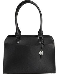 Lodis Bel Air Babette Leather Satchel - Black