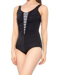 Reebok Daze One-piece Swimsuit - Black