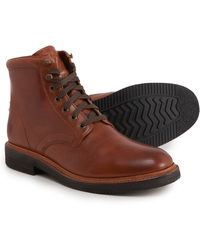 Frye Gordon Lace-up Boots - Brown