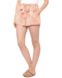 Rip Curl Golden Days Floral Shorts - Pink
