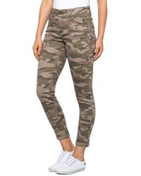Democracy Abtechnology Freedom Ankle Skimmer Skinny Jeans - Multicolor