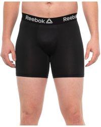 Reebok Performance Boxer Briefs - Black