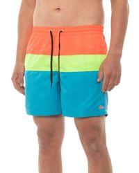 Quiksilver Panel Volley Boardshorts - Multicolor