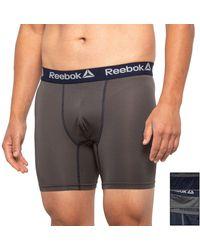 Reebok Core-performance Boxer Briefs - Gray