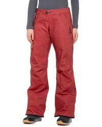 686 Dulca Snowboard Pants - Red