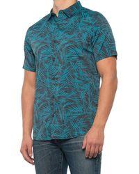 Roark Revival Bless Up Shirt - Blue