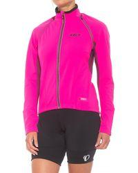 Louis Garneau Spire Polartec(r) Power Shield(r) Convertible Cycling Jacket - Pink