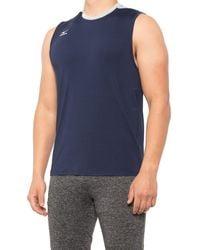 Mizuno Cutoff Jersey Shirt - Blue