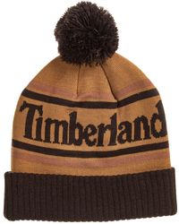 1837f6118 Color-block Beanie (for Men) - Brown