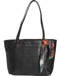 Elliott Lucca Large Ayda Shopper Handbag - Black