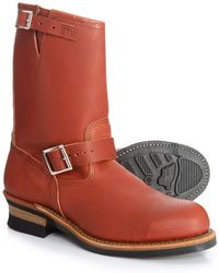 97f73f698b9 Heritage Harness Engineer Boots - Red