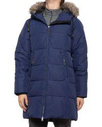 Kamik Nora Long Puffer Jacket - Blue