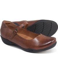 Taos Footwear Ta Dah Mary Jane Shoes - Brown