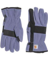 Carhartt - Fleece Duck Gloves (for Women) - Lyst