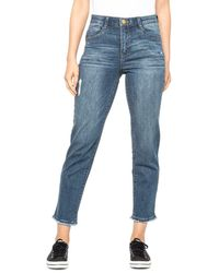 Democracy Abtechnology Freedom Ankle Skimmer Skinny Jeans - Blue