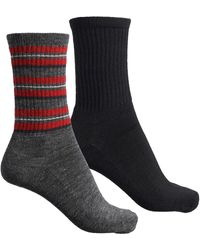 Woolrich The Big Wooly Lightweight Outdoor Socks - Gray