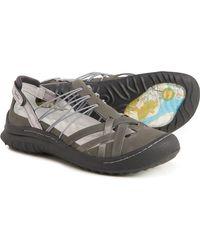 Jambu Chestnut Mary Jane Shoes - Gray