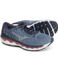 Mizuno Wave Sky Waveknit 3 Running Shoes - Blue