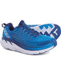 Hoka One One Clifton 4 Running Shoes - Blue
