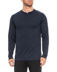 32 Degrees - Techno Mesh Henley Shirt - Lyst