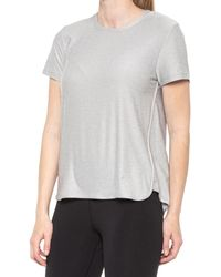 32 Degrees Featherlight Cool Jersey T-shirt - Gray