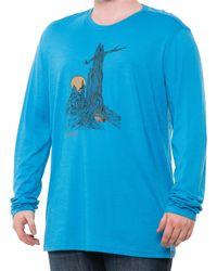 Smartwool Merino Sport 150 Tunnel Views Graphic T-shirt - Blue