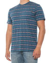 Howler Brothers Portals Jacquard T-shirt - Blue
