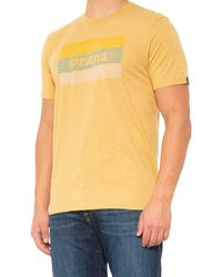 Prana Iconicon T-shirt - Yellow
