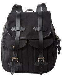 Filson Rugged Twill Rucksack Backpack - Black