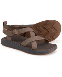 Chaco Wayfarer Sandals - Gray