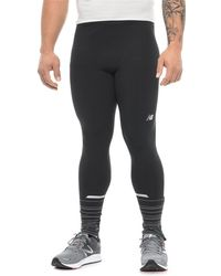 New Balance - Impact Printed Tights (for Men) - Lyst