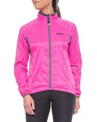 Louis Garneau Luciole Rtr Cycling Jacket - Pink