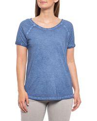 Workshop Raglan T-shirt - Blue