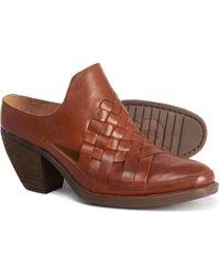 Born Paya Mule Shoes - Brown
