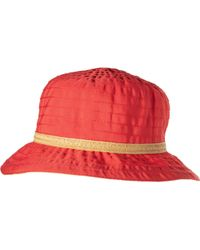 4ce58eb58 Acad Ribbon Bucket Hat With Trim (for Women)