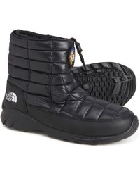 The North Face 7se Bootie Thermoball(r) Snow Boots - Black