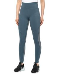 adidas Believe This Mesh Long Tights - Blue