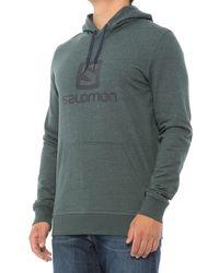 Salomon Logo Hoodie - Green