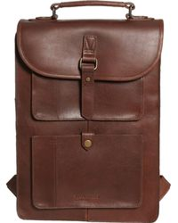 Made In India Lost History Backpack Brown