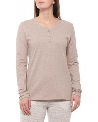 CALIDA Premium Stretch Cotton Henley Shirt - Multicolor